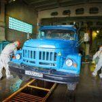 Санитарная обработка автотранспорта